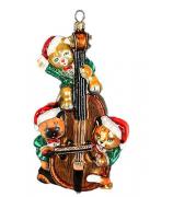 Елочная игрушка «Котята на виолончели»