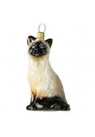 Елочная игрушка «Сиамский котик»