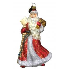 Елочная игрушка Komozja и Mostowski «Русский Дед Мороз», стекло, ручная работа