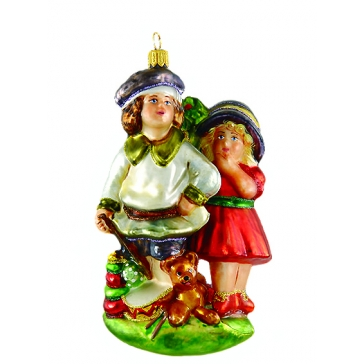 Ёлочная игрушка Komozia & M.A. Mostowski «Друзья на века»