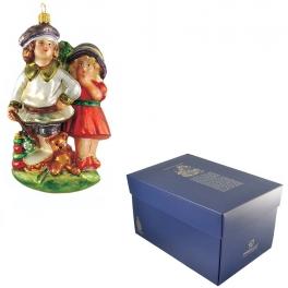 Ёлочная игрушка Komozja & M.A. Mostowski «Друзья на века»