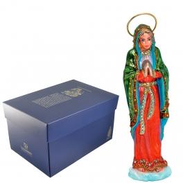 Елочная игрушка из стекла «Мария» с фирменной упаковкой