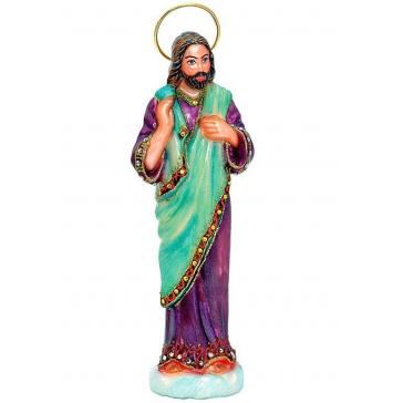 Елочная игрушка из стекла «Иосиф», 16х4,5 см