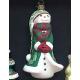Елочная игрушка «Снеговик Омела»