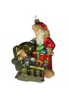 Елочная игрушка «В ожидании Деда Мороза»