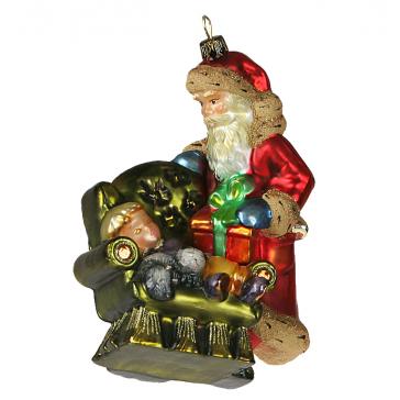 Елочная игрушка Komozja Family «В ожидании Деда Мороза», Польша