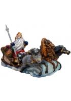Елочная игрушка «Тройка Деда Мороза»
