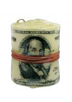 Елочная игрушка «Пачка денег»