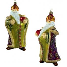 Елочная игрушка «Дед Мороз Царь»