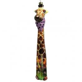 Елочная игрушка «Жираф»