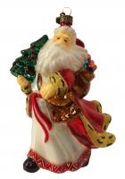 Елочная игрушка «Нарядный Дедушка Мороз»