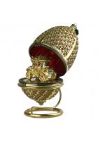 Елочная игрушка-шкатулка «Карета для Золушки»