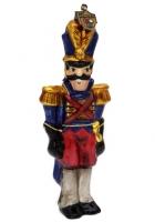 Елочная игрушка «Солдатик»