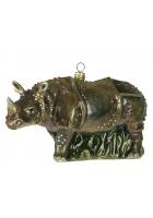 Елочная игрушка «Носорог»