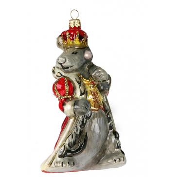 Елочная игрушка Крыса в мантии, Komozja и Mostowski, Польша