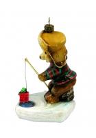 Елочная игрушка «Подарок для рыбки»