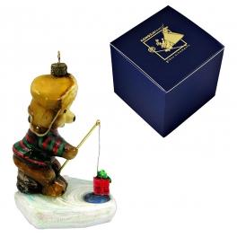 Елочная игрушка «Подарок для рыбки», производство Польша