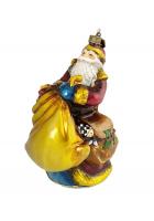 Елочная игрушка «Дед Мороз с золотым мешком»