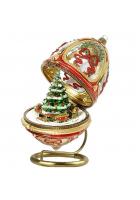 Музыкальный сувенир - елочная игрушка «Новогодний дилижанс»