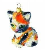 Елочная игрушка «Котик Удача»