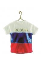 Елочная игрушка «Футболка сборной России»