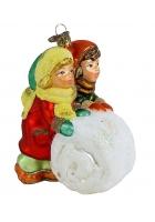 Елочная игрушка «Играющие дети»