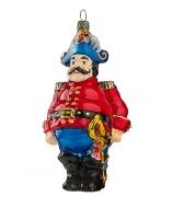 Елочная игрушка «Жандарм в красном мундире»