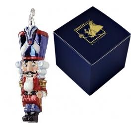 Елочная игрушка «Щелкунчик Гренадер», тонкая ручная работа, размер 13х6 см