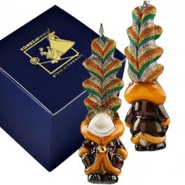 Елочная игрушка «Олень – цветные рожки», Польша, Komozja Family