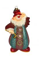 Ёлочная игрушка «Клоун – рукава гармошка»