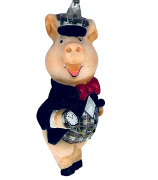 Елочная игрушка «Мистер Свин»