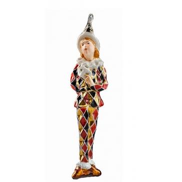 Елочная игрушка с художественной росписью «Кавалер»