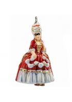 Елочная игрушка «Фарфоровая дама»