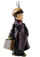 Елочная игрушка «Мальчик с портфелем»