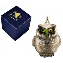 Елочная игрушка «Серая сова»