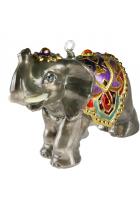 Елочная игрушка «Слон»