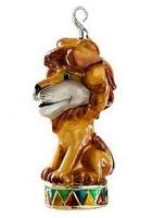 Елочная игрушка «Лев на арене»