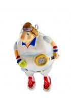 Елочная игрушка «Теннисист»