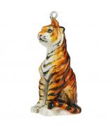 Елочная игрушка «Благородный тигр»