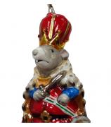 Елочная игрушка «Король мышей»