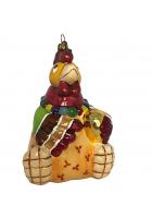 Елочная игрушка «Курица с яйцом»