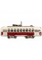 Елочная игрушка «Трамвай»