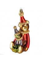 Елочная игрушка «Два медвежонка»