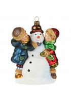 Елочная игрушка «Зимние игры»