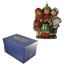 Стеклянная игрушка на елку «Праздничный хор»