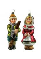 Набор елочных игрушек «Зимний»