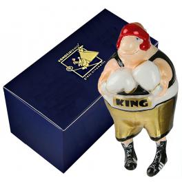 Стеклянная елочная игрушка «Боксер», Польша