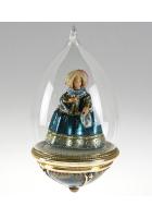 Елочная игрушка-глоба «Дама в пышном платье»