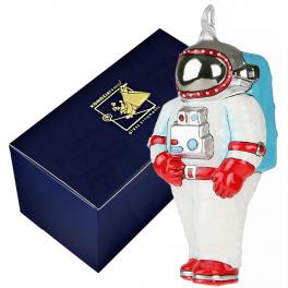 Елочная игрушка Komozja Family «Космонавт» в фирменной коробке