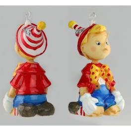 Коллекционная елочная игрушка «Умненький и богатенький», Komozja Family, Польша